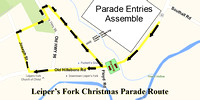 Leiper's Fork Christmas Parade-photos