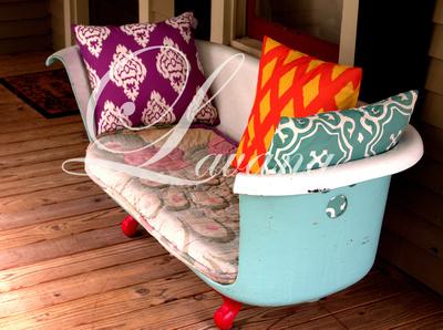Bathtub bench